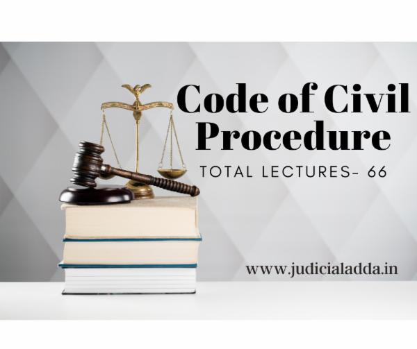 Code of Civil Procedure, 1908 cover