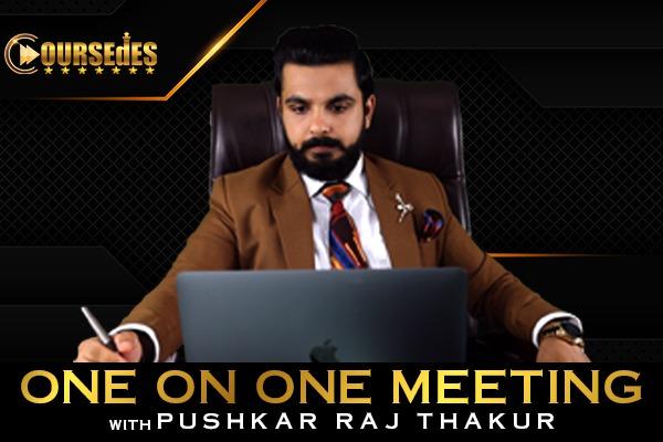 One on One Meeting with Pushkar Raj Thakur cover