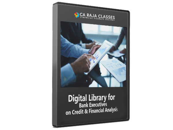 Digital Library for Bank Executives on Credit & Financial Analysis cover
