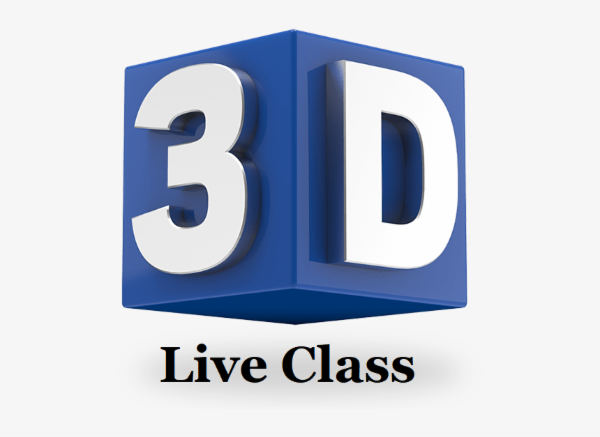 LIVE GROUP CLASS - 3D Design cover