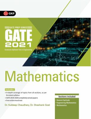 GATE 2021 - Guide - Mathematics cover
