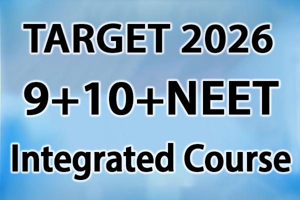 Class 9 + 10 + NEET Integrated cover