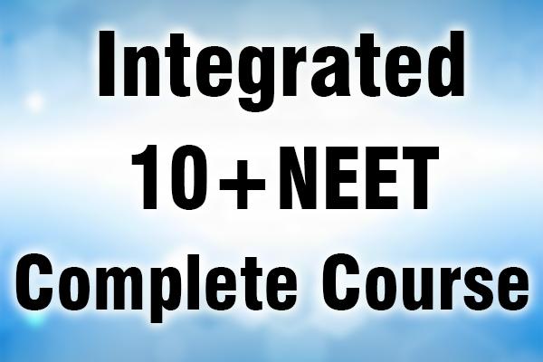 Class 10 + NEET Integrated cover