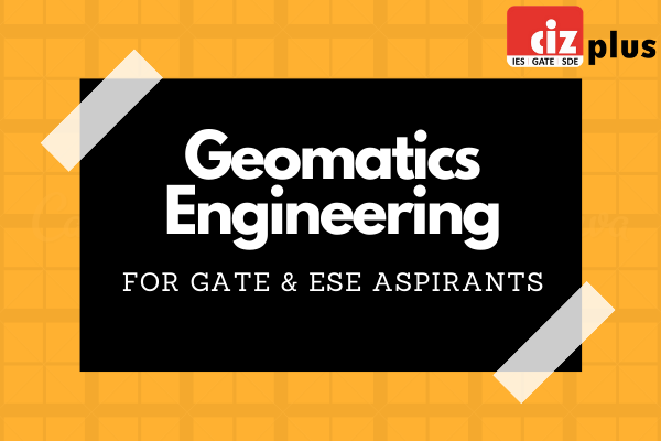 Geomatics Engineering - GATE/ESE cover