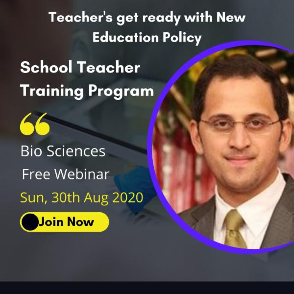 Free Webinar- Train the Teachers- 5 PM-6 PM: 30th Aug cover