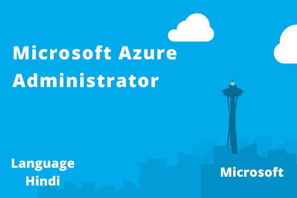 Microsoft Azure Administrator September cover
