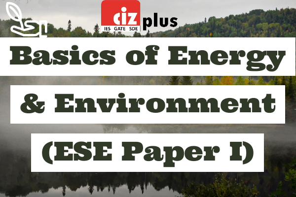 Basics of Energy & Environment (ESE Paper I) cover