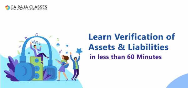 Learn Verification of Assets & Liabilities in less than 60 Minutes cover