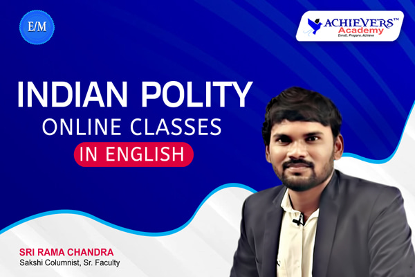 Indian Polity Classes in English cover