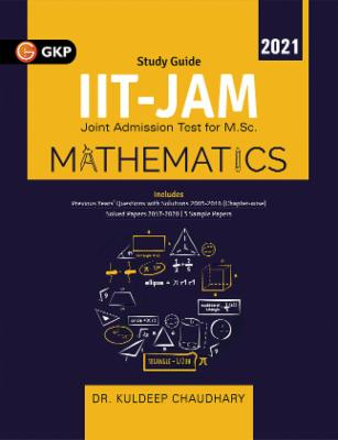IIT JAM (Joint Admission Test for M.Sc.) 2021 - Mathematics cover