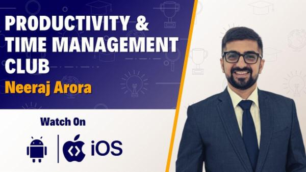 A Complete Course On Productivity & Time Management cover