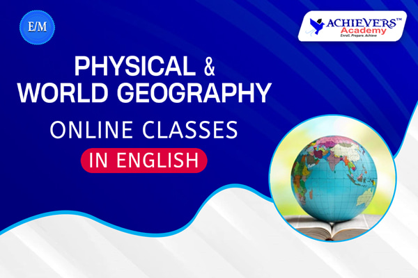 Physical & World Geography Classes in English cover