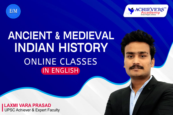 Ancient & Medieval Indian History Classes in English cover