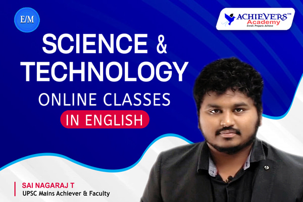 Science & Technology Classes in English cover
