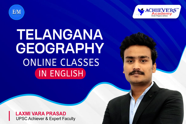 Telangana Geography Classes in English cover