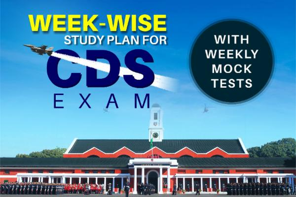 [eBook] Week-Wise Detailed Strategy for CDS Exam cover