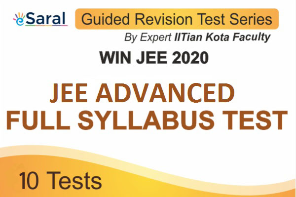 Win JEE ADVANCED 2020 Guided Revision Test Series cover