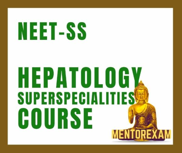 NEET-SS FNB Hepatology Superspecialities mcq exam course cover