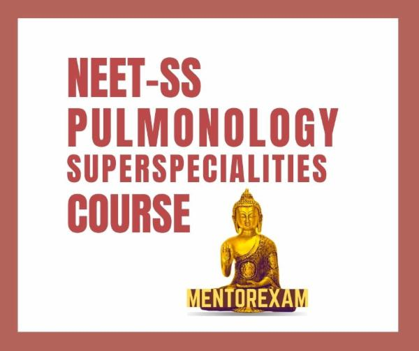 NEET-SS FNB Pulmonology Superspecialities mcq exam course cover