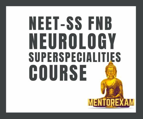 NEET-SS FNB Neurology mcq mock exam course cover