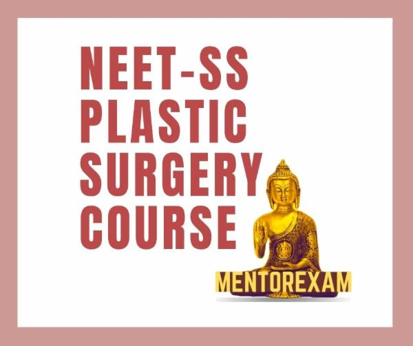 NEET-SS FNB Plastic Reconstructive Surgery mcq mock exam course cover