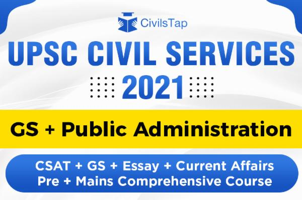 2021 - UPSC GS + Public Administration Optional Combo Course cover