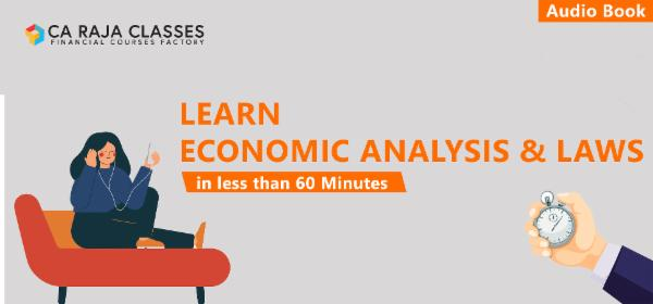 Learn Economic Analysis & Laws in less than 60 Minutes cover