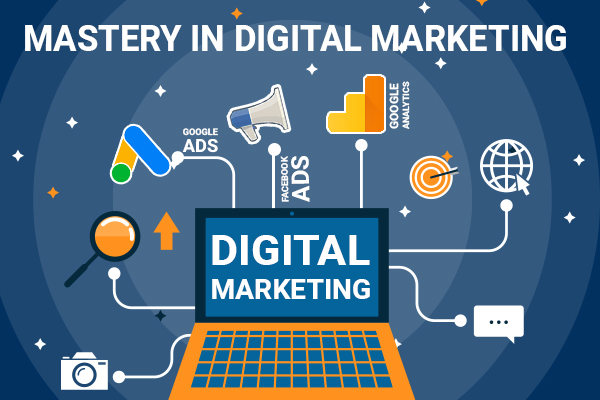 Mastery in Digital Marketing (Google Ads + Facebook Ads + Google Analytics) cover
