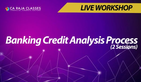 Online Workshop on Banking Credit Analysis Process (2 Sessions) cover
