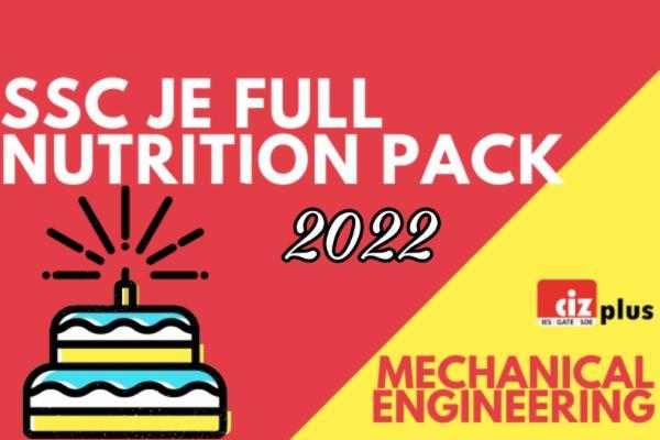 SSC JE Full Nutrition Pack (Mechanical) cover
