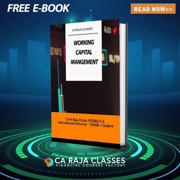 E-Book on Working Capital Management cover