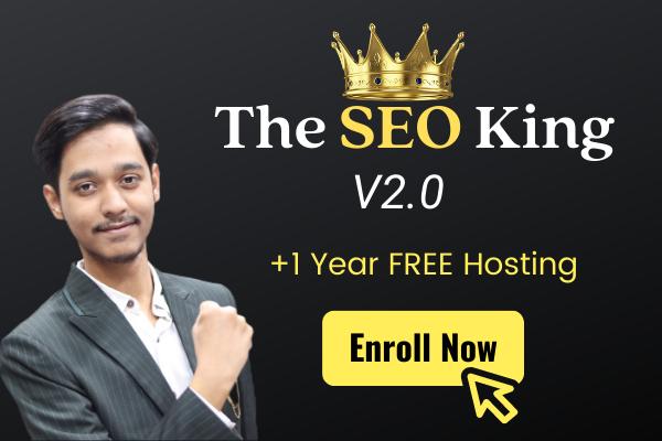 The SEO King Program cover
