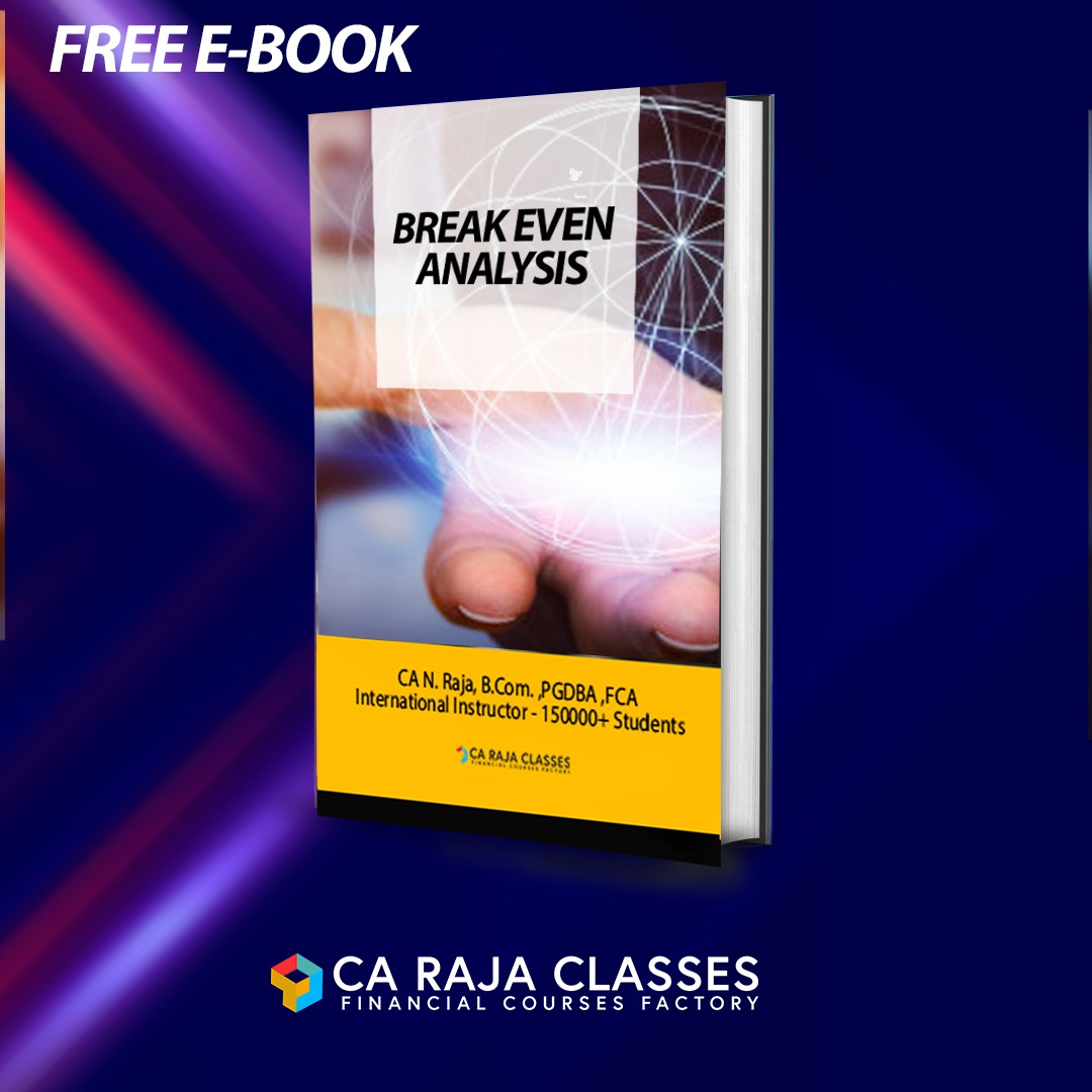 Learn Break Even Analysis at Ease - PowerPoint Material cover