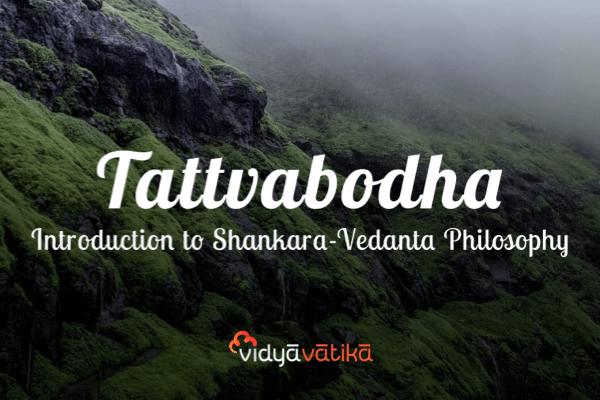 Introduction to Shankara-vedanta Philosophy: Tattvabodha cover