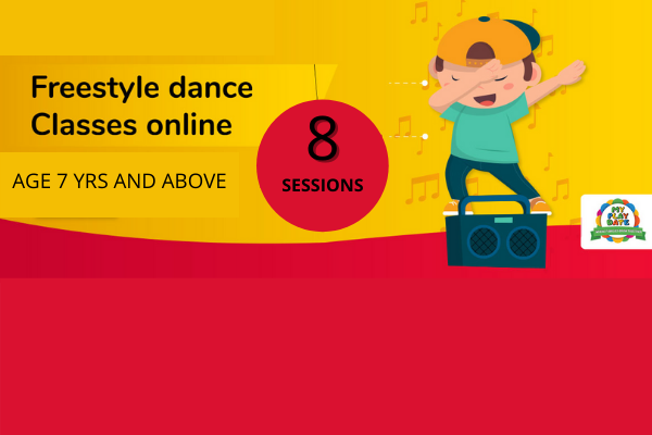 DANCE CLASSES FOR AGE 7+ cover