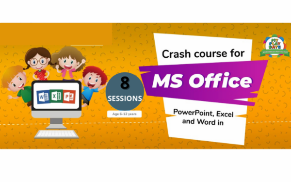 CRASH COURSE FOR MS OFFICE cover