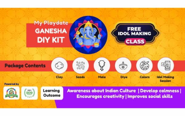 Make Your Own Ganpati Kit cover