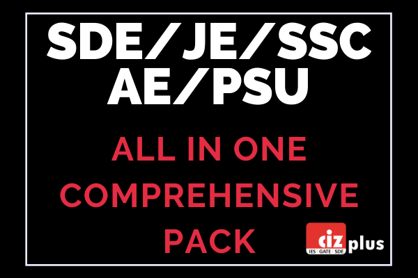 SDE/JE/SSC/AE/PSUs All in One Comprehensive Pack cover