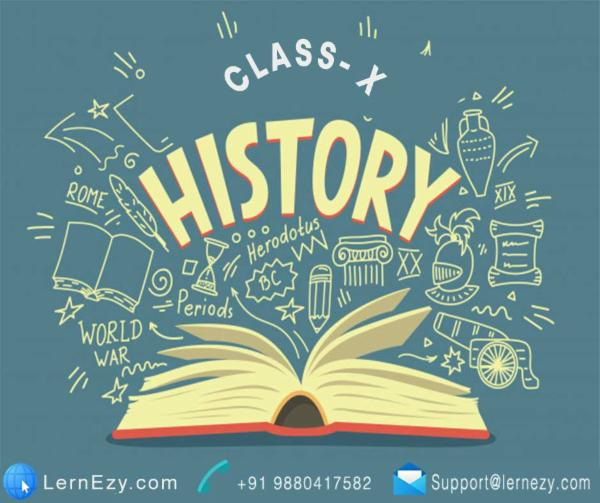CBSE History - 10th cover