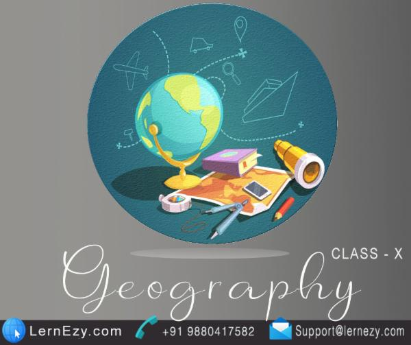 CBSE Geography - 10th cover