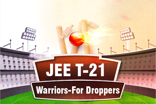 JEE T-21 Warriors - For Droppers cover
