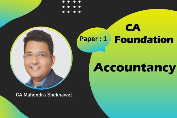 CA Foundation - Accountancy cover