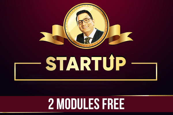 Startup Certification Program - 2 Modules Free cover