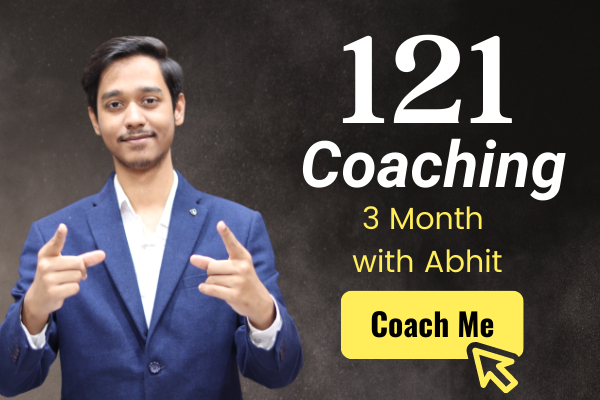 121 Coaching with Abhit Upadhyay cover