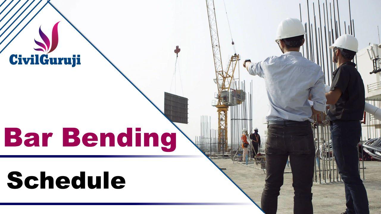 Bar Bending Schedule Calculation cover