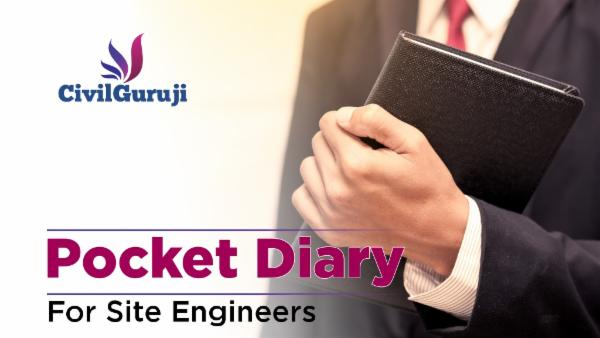 Pocket Diary for Site Engineers cover