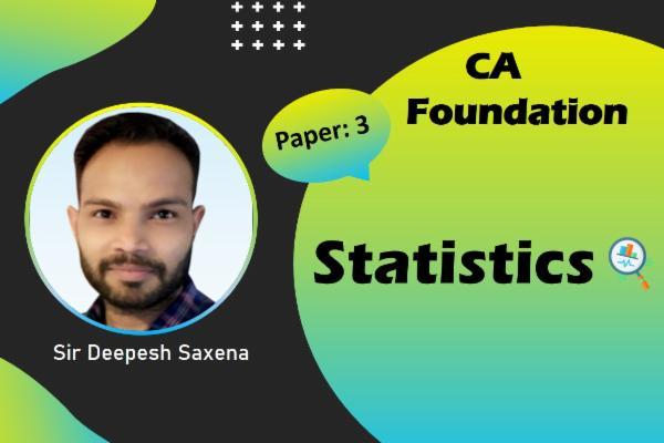 CA foundation - Statitics cover