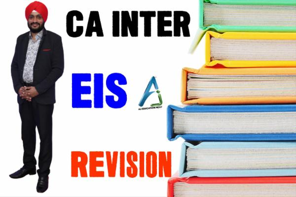 EIS Revision Lectures cover