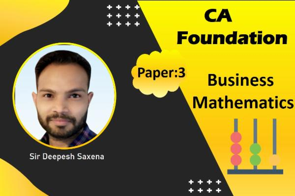 Ca foundations - Business Mathematics cover