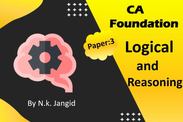 CA Foundations - Logical & Reasoning cover